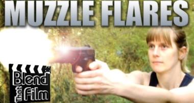 Muzzle Flare Effect in Blender – Blend That Film Episode 2