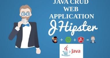 Jhipster Tutorial 1 |Java CRUD Application |Java Web Application |EDIT DELETE UPDATE