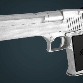 Deagle – Speed Modeling Blender 3D