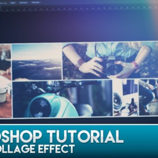 Photoshop Tutorial – Photo Collage Effect