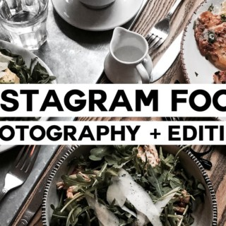 How To: Minimal Food Photography + Editing // Instagram Series