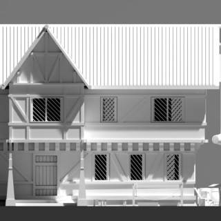 Blender 3D Speed Modeling – RPG House Exterior