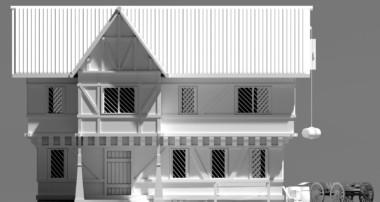 Blender 3D Speed Modeling – RPG House Exterior