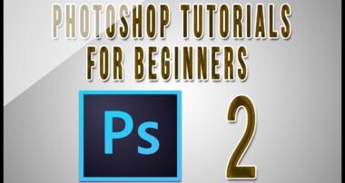 Photoshop Tutorials For Beginners (Part 2)
