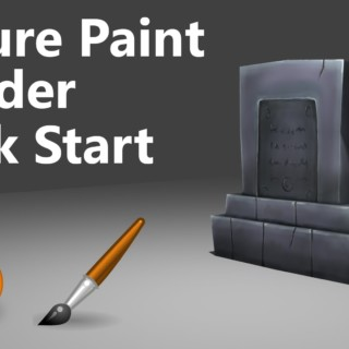 Texture Painting | Quick start | Blender | 3min