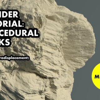 Blender tutorial | Procedural rocks