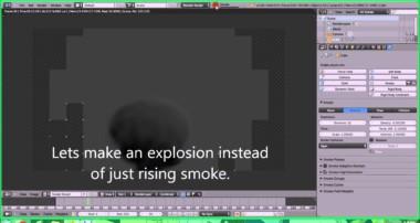 Blender Tutorial #1 How to Render Smoke