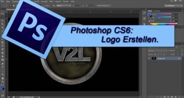 Adobe Photoshop CS6 – Logo Design Erstellen / Selber machen [Tutorial German Deutsch] Auch für GIMP