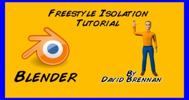 Blender Tutorial: Freestyle Only Render Layer