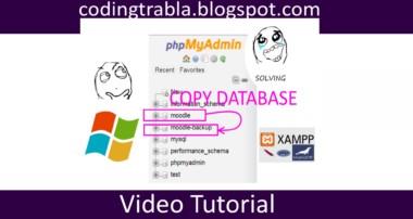 phpMyAdmin: copy database byAO