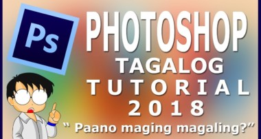 Photoshop Cs6 tutorial for beginner in Tagalog Version