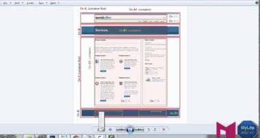 Cắt web bằng Bootstrap, PSD to HTML, CSS #02 – Phần 1 – Tạo lưới tổng quát