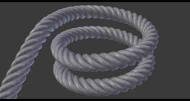 Blender Tutorial – How To Model A Rope In Blender
