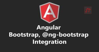 Session 11 | Angular, Bootstrap 4, @ng-bootstrap integration