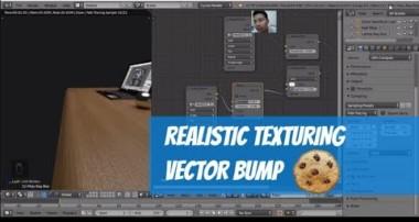 Tutorial Blender Pemula 15/17 | Lebih realistis menggunakan Vector Bump | Cycles Render