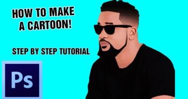 How To Make A Cartoon/Vector Effect (2018) – Photoshop CS6 Tutorial, Ghanaian Musician Sarkodie