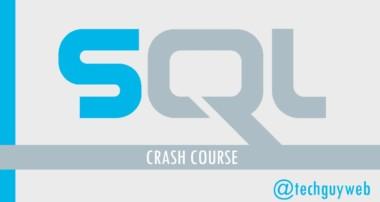 SQL Crash Course – Beginner to Intermediate