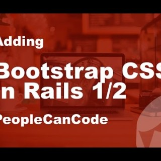 (1/2) How to add Bootstrap CSS to website