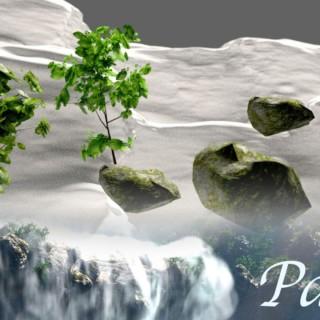 Create Gorgeous Waterfalls – Blender Tutorial – 01 : Terrain & Assets