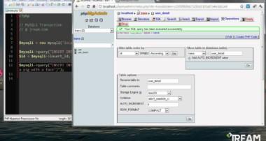PHP MySQL Transaction Tutorial