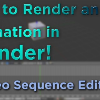 How to Render an Animation in Blender!