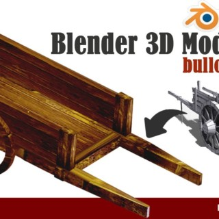 Blender 3d Animation Tutorials-  3D Wooden cart Modeling