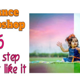 Only 6 Stape in Photoshop I Advance Baby Photo editing tutorial 1