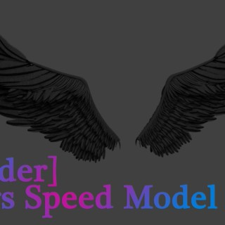 [Blender] 3D Wings Speed Model