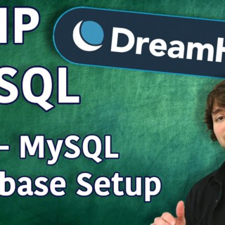 PHP MySQL in DreamHost Tutorial 2 – MySQL Database Setup