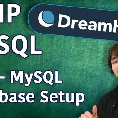 PHP MySQL in DreamHost Tutorial 2 – MySQL Database Setup