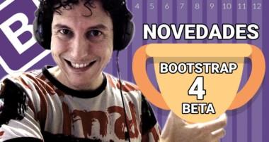 Nuevo Bootstrap 4 Beta – Novedades – Diseño y programación Web