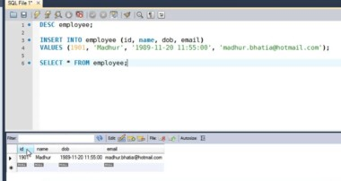 SQL Tutorial – 12: Inserting Data Into Tables