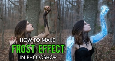 How to make Frost Effect in Photoshop CC | CS6