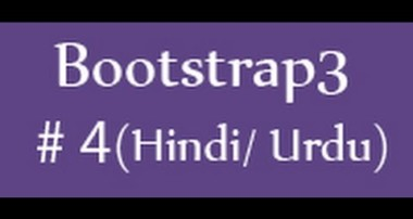 Bootstrap Tutorials in Hindi/Urdu – 4 – Bootstrap grid system (Part 1)