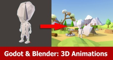 Blender & Godot : 3D Animations