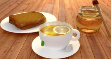 Cycles Render Of A Realistic Breakfast in Blender