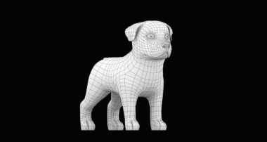 Cartoon Dog  Blender 3D Modeling Timelapse