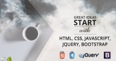 Learn HTML css javascript jquery bootstrap angularjs materializecss