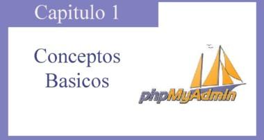Tutorial PHPMYADMIN : Capitulo 1 Conceptos Basicos