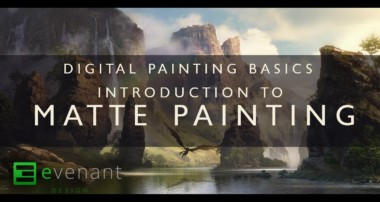 Introduction To Matte Painting – Digital Painting Basics – Concept Art Tutorial