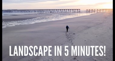 LANDSCAPE photography in UNDER 5 MINUTES!