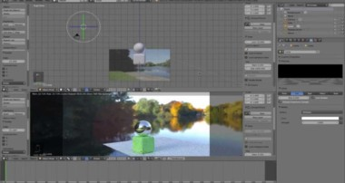 CGInclusion with proper shadows in Blender Cycles