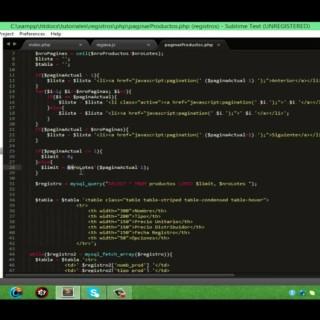 Paginacion de registros – PHP+JQuery+Bootstrap+MySQL