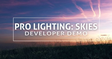 Pro Lighting Skies – Update from the Developer at Blenderguru