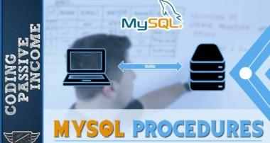 MySQL Beginners Tutorial: MySQL Procedures