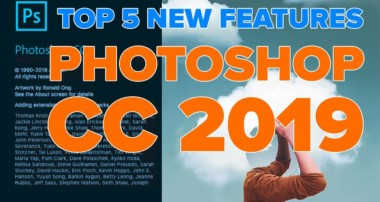 Photoshop CC 2019 TOP 5 NEW features!
