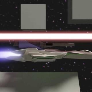 Laser Evade-WIP for Blenderguru contest.