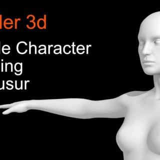 Female Character Blender 3d modeling. Part 1 – Body