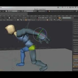 3d blender character animation workflow