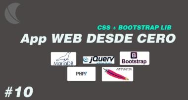 Creando una Aplicacion Web Parte 10 Agregar CSS + Bootstrap